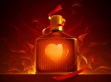 Сердце во флаконе