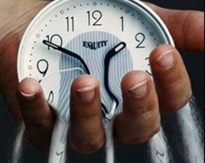 Время тает в руке