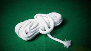 Белая веревочка