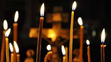 Церковные свечи горят