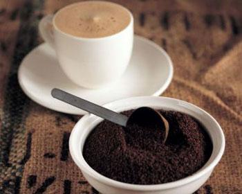 Черный молотый кофе