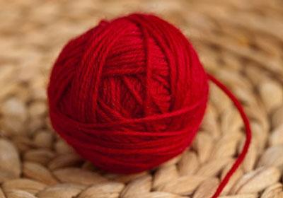 Клубок красной нитки