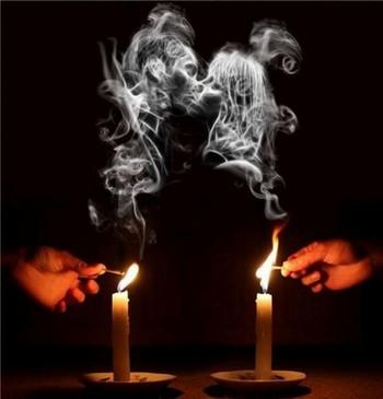 дым во время ритуала