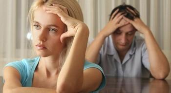 ссора в семейной паре