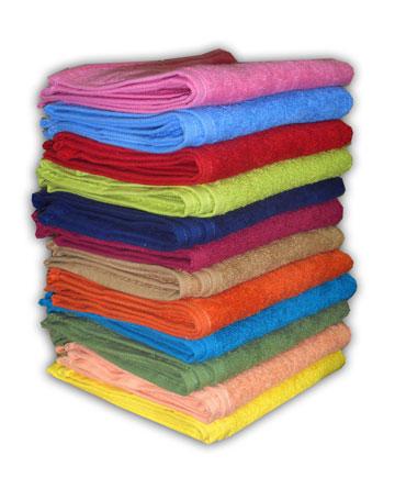 Стопка полотенец
