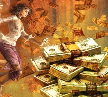 стопка денежных купюр