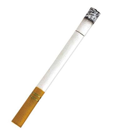 Сигарета с пеплом