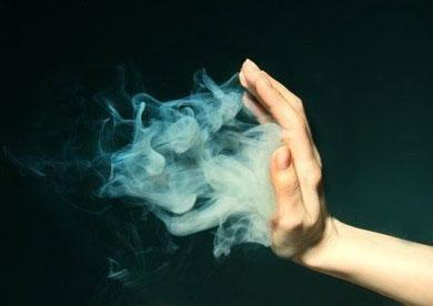 Дым в ладоне