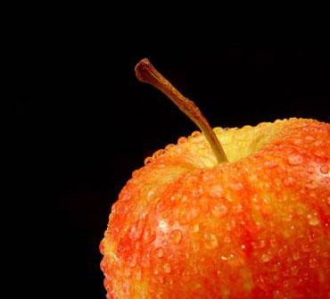 Красное яблочко