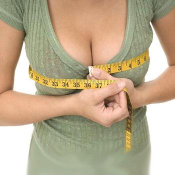 Массаж для увеличения груди упражнения