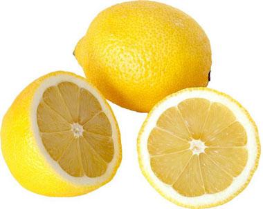 Лимон и две половинки лимона