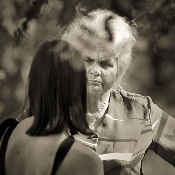 Если отношения со свекровью не ладятся