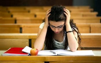 сдача экзамена