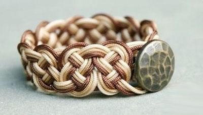 Кельтские узлы в браслете