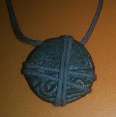 Ордынский амулет из камня