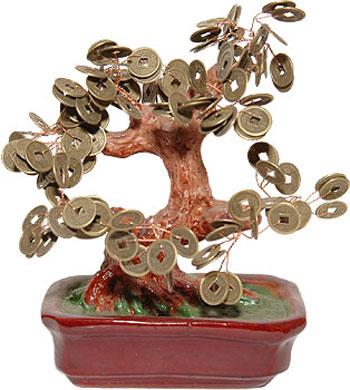 Талисман Фен Шуй Денежное дерево