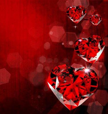 Сердца из рубина