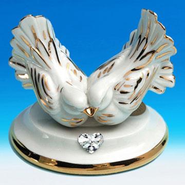 Талисман фен шуй голуби