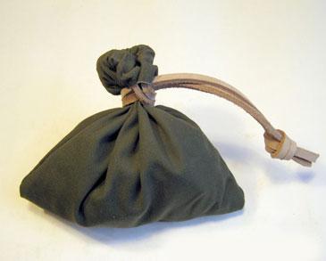Кожаный мешочек