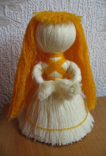 Кукла оберег из ниток