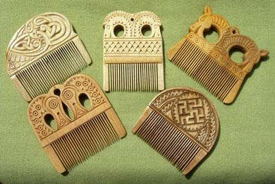 Славянские оберег для женщин гребешки