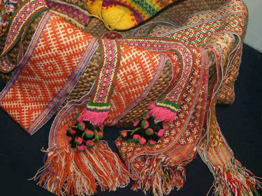 Славянский оберег шарф