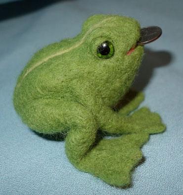 Валеная лягушка