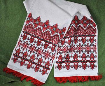 Украинский рушник