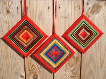 Три оберега-вышивки