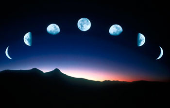 Фазы роста луны