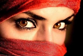 Глаза мусульманки