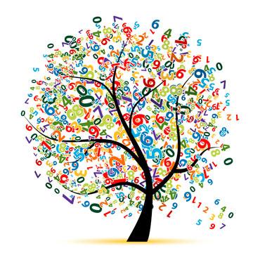Дерево с цифрами