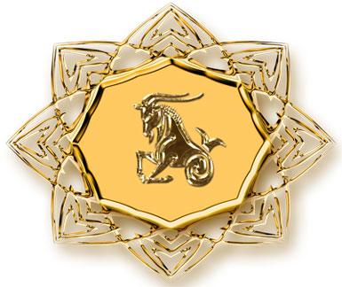Медальон Козерог
