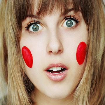Что означают горящие щеки или уши?