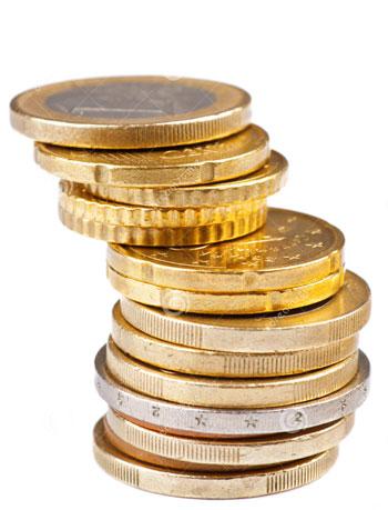 Стопка монеток