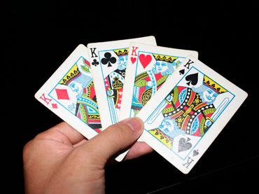 Четыре короля в руке