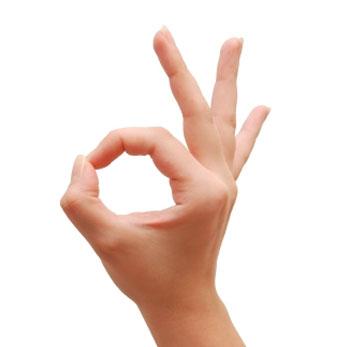 Кольцо из пальцев