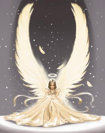 Девочка-ангел