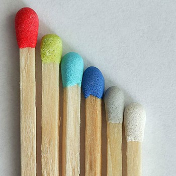Разноцветные спички