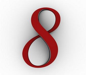 Красное число 8