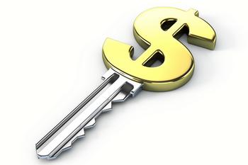 Ключ со знаком доллара