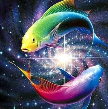 Красивый разноцветные рыбы