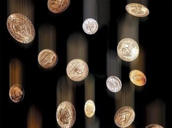 Падающие монетки