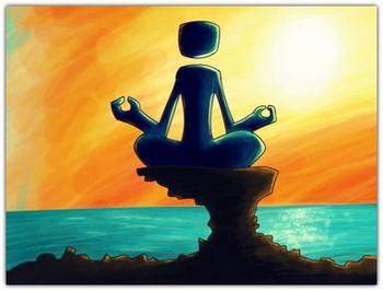 Рисунок медитации