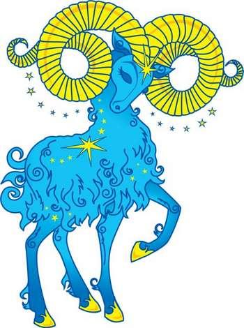 Голубой овен