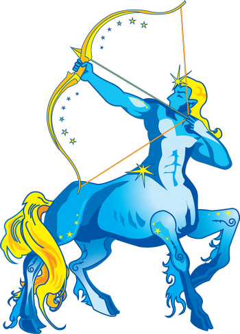 Голубой стрелец