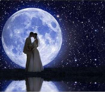 Молодожены и полная луна