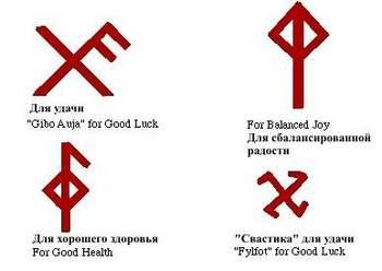 Несколько рунических символов
