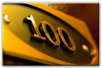 Номер квартиры 100