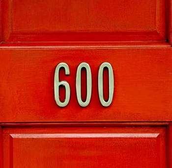 Номер квартиры  600